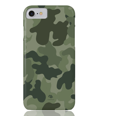 Army Green Camo Phone Case - iPhone 7, iPhone 8