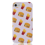 Burger Fries Phone Case - iPhone 7, iPhone 8 - CinderBloq Cases & Accessories