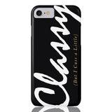 Classy But I Cuss A Little Phone Case - iPhone 7, iPhone 8 - CinderBloq Cases & Accessories