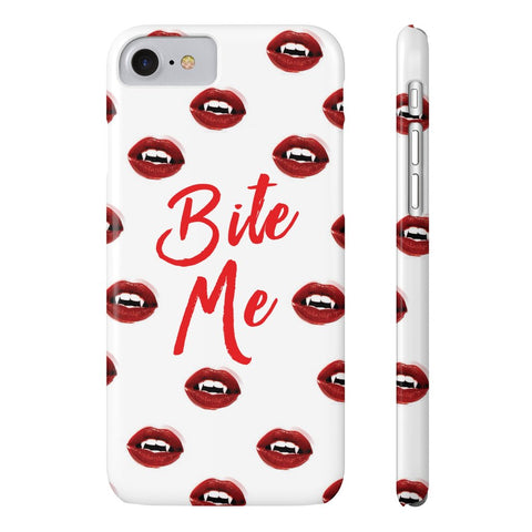 Bite Me Phone Case - iPhone 7, iPhone 8 - CinderBloq Cases & Accessories