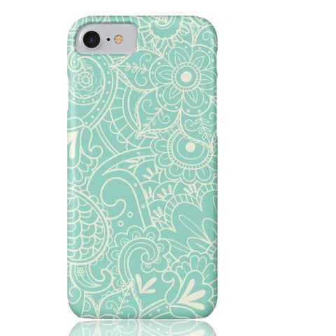 Paisley Print in Teal Phone Case - Cinderbloq Cases & Accessories