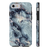 Blue Pearl Marble Phone Case - iPhone 7, iPhone 8 - CinderBloq Cases & Accessories