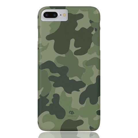 Army Green Camo Phone Case - iPhone 7 Plus / 8 Plus