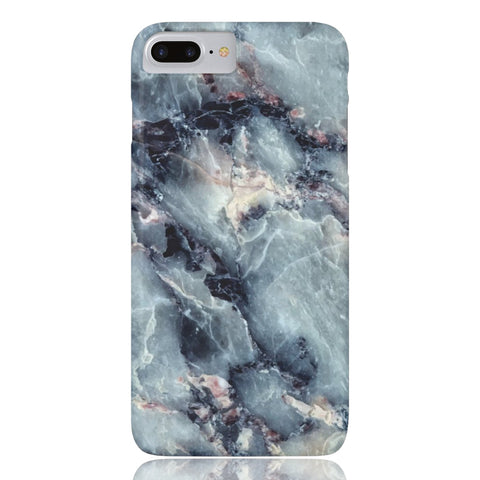 Blue Pearl Marble Phone Case - iPhone 8 Plus