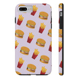 Burger Fries Phone Case - iPhone 7 Plus / 8 Plus - CinderBloq Cases & Accessories