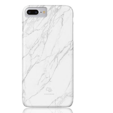White Stone Marble Phone cases - iPhone 7 Plus