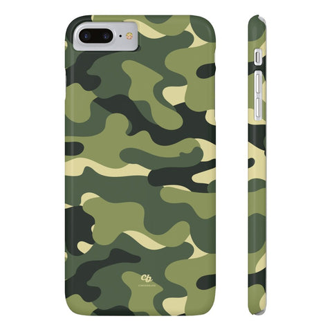 Green Camo Phone Case - iPhone 7 Plus / 8 Plus