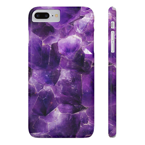 Amethyst Stone Phone Case - iPhone 7 Plus / 8 Plus