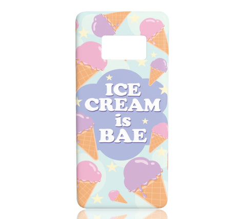 Ice Cream is Bae - Samsung Galaxy S8 - CinderBloq Cases & Accessories