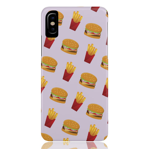 Burger Fries Phone Case - CinderBloq Cases & Accessories
