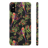 Tropical Parrot Phone Case - iPhone X