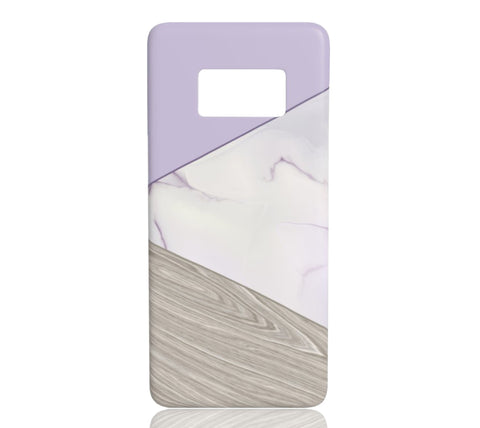 Lavender Tangram - Samsung Galaxy S8 - CinderBloq Cases & Accessories