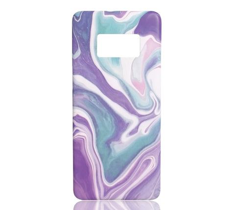Lavender Marble - Samsung Galaxy S8 - CinderBloq Cases & Accessories