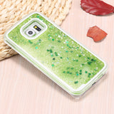 Star Dust Liquid Glitter Waterfall Case (Lime Green) - CinderBloq Cases & Accessories