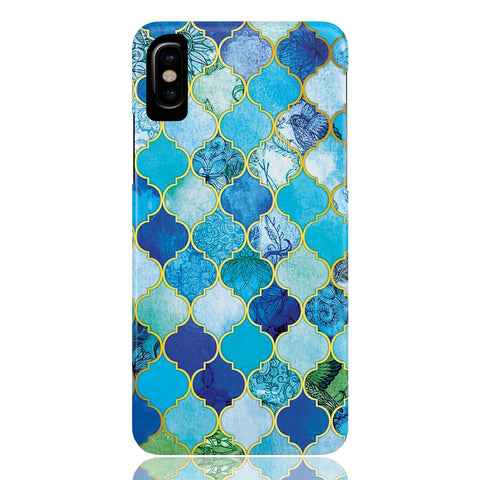 Moroccan Tile Print Phone Case