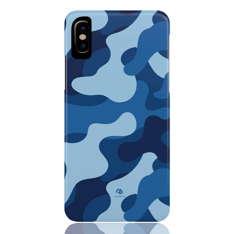 Blue Camo Phone Case - CinderBloq Cases & Accessories