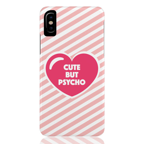 Cute But Psycho Phone Case - CinderBloq Cases & Accessories