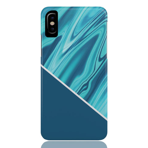 Ocean Blue Marble Phone Case
