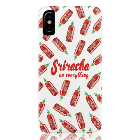 Sriracha Phone Case (White)