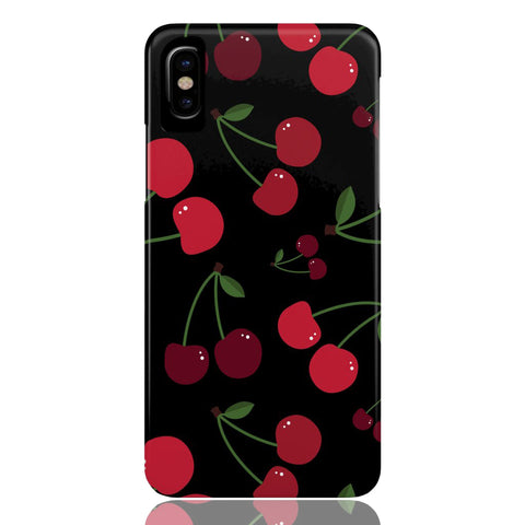 Black Cherry Phone Case - CinderBloq Cases & Accessories