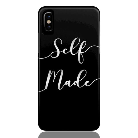 Self Made (Black) Phone Case