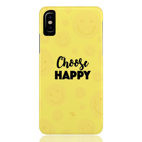 Choose Happy Phone Case - CinderBloq Cases & Accessories