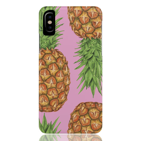 Pineapple Print Phone Case