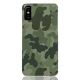 Army Green Camo Phone Case - iPhone XS - CinderBloq Cases & Accessories