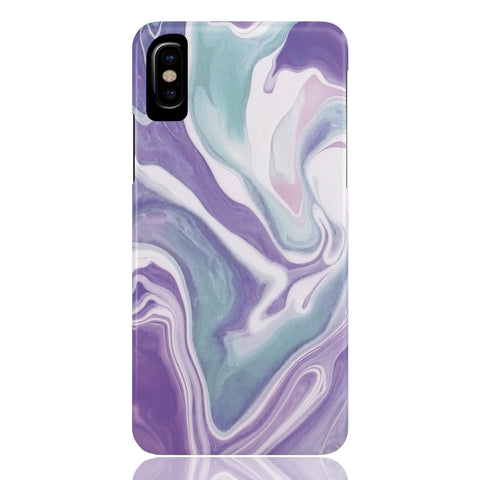 Lavender Marble Phone Case - CinderBloq Cases & Accessories
