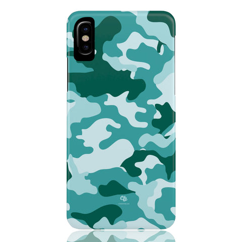 Teal Camo Phone Case - CinderBloq Cases & Accessories