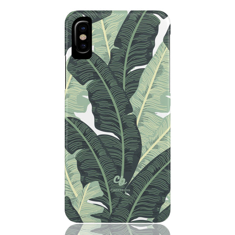 Tropical Banana Leaves Phone Case - CinderBloq Cases & Accessories