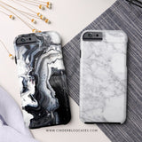 Granite Marble Phone Case - Samsung Galaxy S5 - Cinderbloq Cases & Accessories