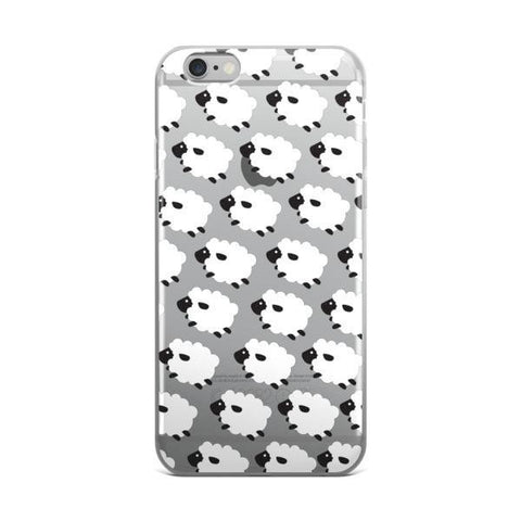Counting Sheep Transparent Case - iPhone 6/6s - CinderBloq Cases & Accessories