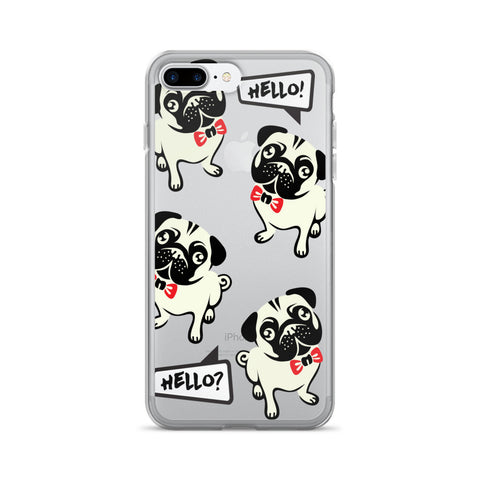 Hello Frenchie TPU iPhone 7 Plus Case - Cinderbloq Cases & Accessories