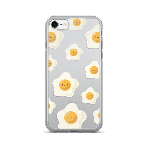 Sunny Side Up Egg Pattern TPU iPhone Case - iPhone 7 - Cinderbloq Cases & Accessories