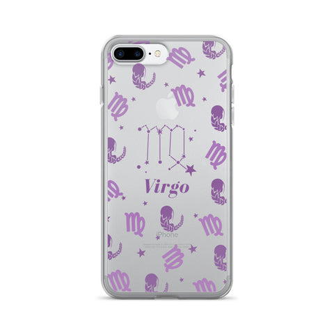 Horoscope Zodiac - Virgo - TPU iPhone 7 Plus Case - Cinderbloq Cases & Accessories