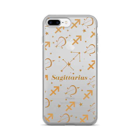 Horoscope Zodiac - Sagittarius - TPU iPhone 7 Plus Case - Cinderbloq Cases & Accessories