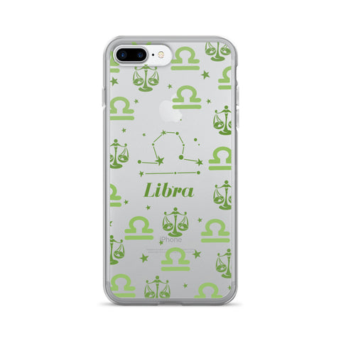 Horoscope Zodiac - Libra - TPU iPhone 7 Plus Case - Cinderbloq Cases & Accessories