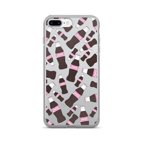 Cola Heaven Transparent - iPhone 7 Plus - Cinderbloq Cases & Accessories