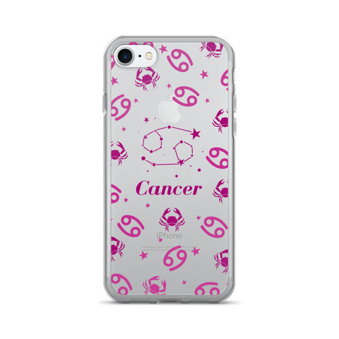 Horoscope Zodiac - Cancer - TPU iPhone 7 Case - Cinderbloq Cases & Accessories