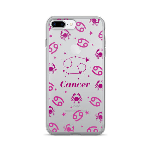 Horoscope Zodiac - Cancer - TPU iPhone 7 Plus Case - Cinderbloq Cases & Accessories