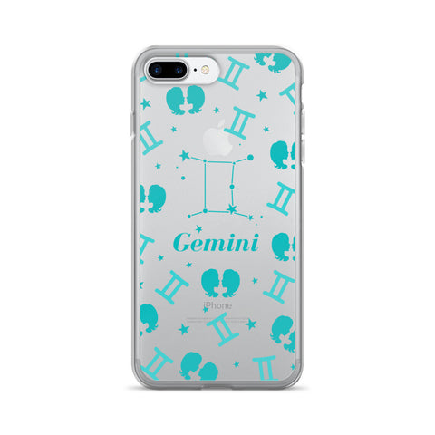 Horoscope Zodiac - Gemini - TPU iPhone 7 Plus Case - Cinderbloq Cases & Accessories
