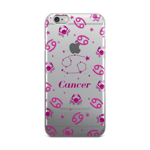Horoscope Zodiac - Cancer - TPU iPhone 6 Plus / 6s Plus Case - Cinderbloq Cases & Accessories