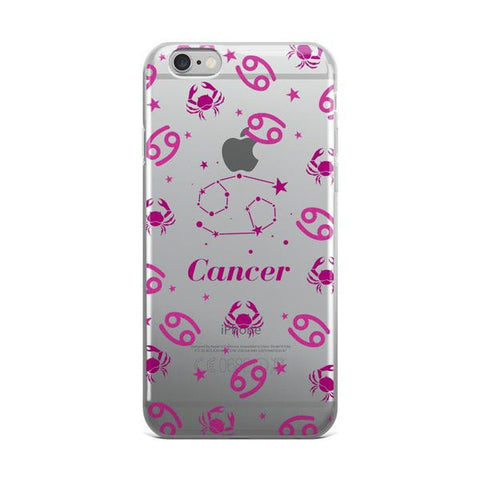 Horoscope Zodiac - Cancer - TPU iPhone 6/6s Case - Cinderbloq Cases & Accessories