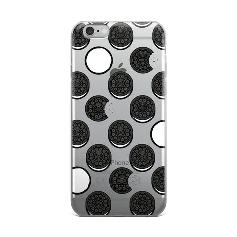 Oreo Transparent iPhone Case - Cinderbloq Cases & Accessories