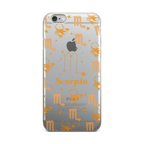 Horoscope Zodiac - Scorpio - TPU iPhone 6 Plus / 6s Plus Case - Cinderbloq Cases & Accessories