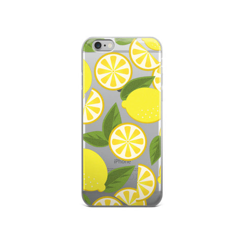 Lemonade Transparent Phone case - CinderBloq Cases & Accessories