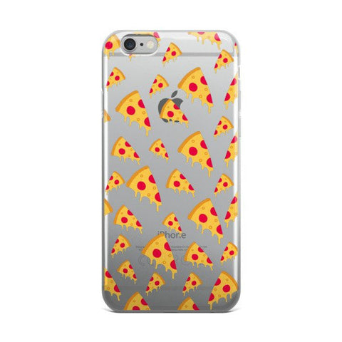 Pizza Clear Transparent TPU Case - iPhone 6/6s - Cinderbloq Cases & Accessories