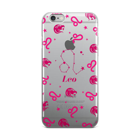 Horoscope Zodiac - Leo - TPU iPhone 6 Plus / 6s Plus Case - Cinderbloq Cases & Accessories