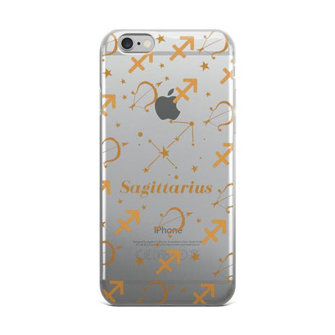 Horoscope Zodiac - Sagittarius - TPU iPhone 6/6s Case - Cinderbloq Cases & Accessories